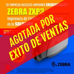 Impresora de tarjetas Zebra ZXP3
