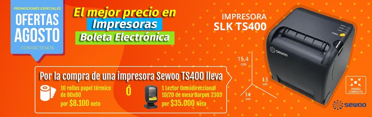 Promoción TS400
