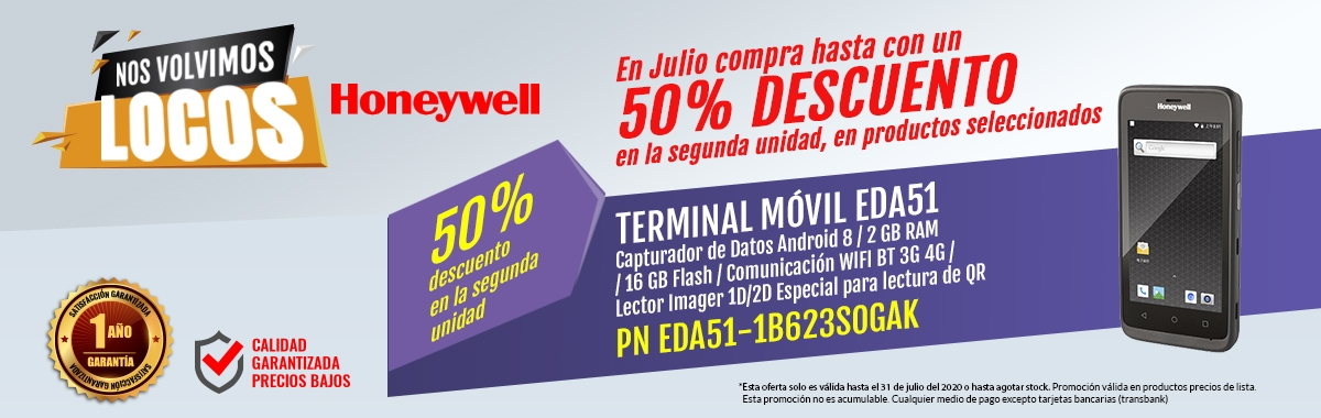 TERMINAL MÓVIL SCANPAL EDA51