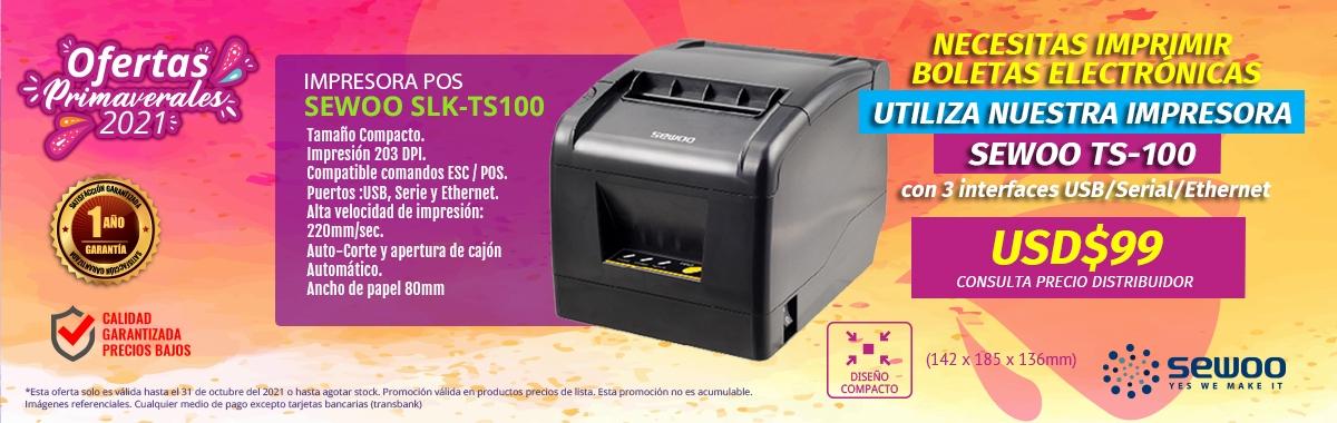 PROXIMAMENTE Nueva Impresora Sewoo Linea Económica