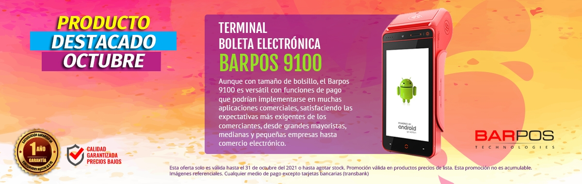 Barpos 9100